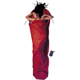 Cocoon MummyLiner Silk Cotton, rood